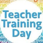Teacher Training Day Friday 25th Oct